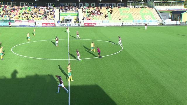 Tidlig Fredriksen-scoring holdt for Mjøndalen