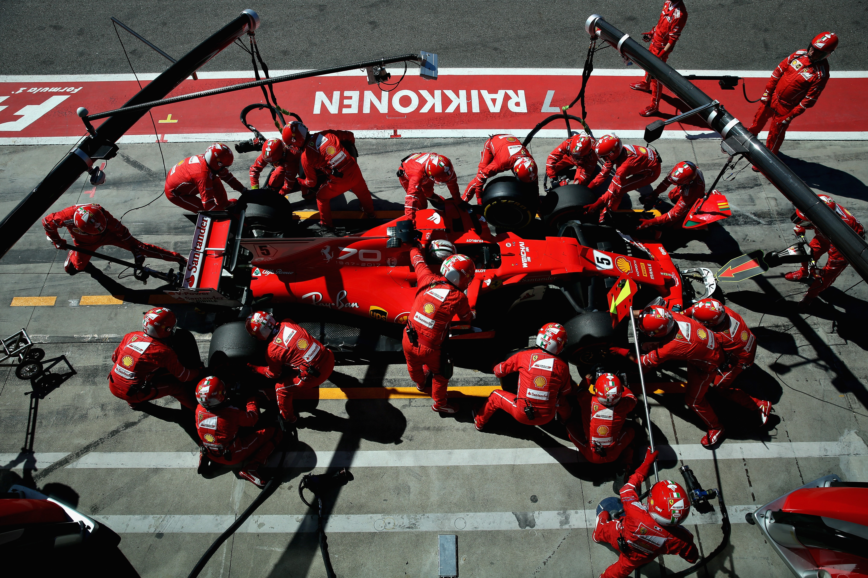 Sebastian Vettel (Ferrari) au Grand Prix de Italie 2017