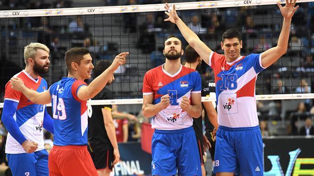 La Serbie se console avec du bronze