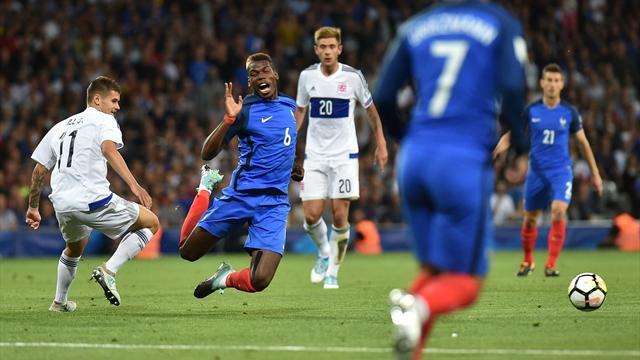 Figuraccia della Francia: solo 0-0 con il Lussemburgo; Belgio qualificato alla fase finale