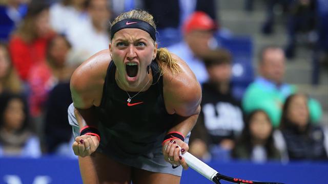 Kvitova poursuit sa renaissance et stoppe Muguruza