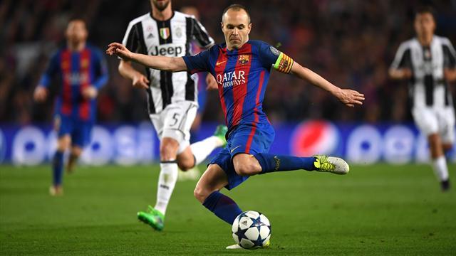 """La Juve veut faire d'Iniesta son """"nouveau Pirlo"""""""