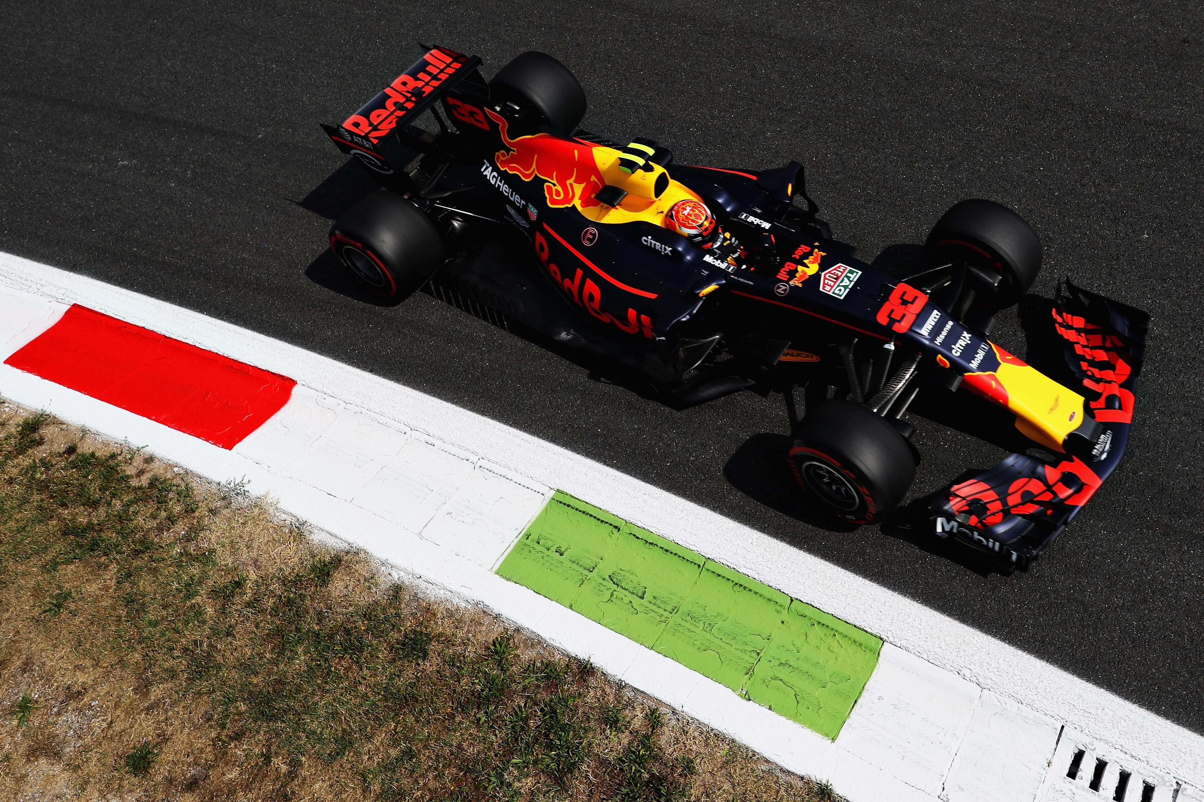 Max Verstappen (Red Bull) au Grand Prix de Italie 2017