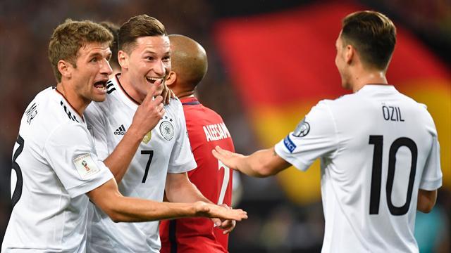 L'Allemagne cartonne encore et touche au but
