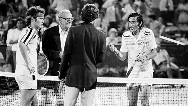 Le jour où... Nastase et McEnroe ont rendu fou arbitre et public