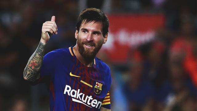 Lionel Messi hat-trick lights up Barcelona derby win