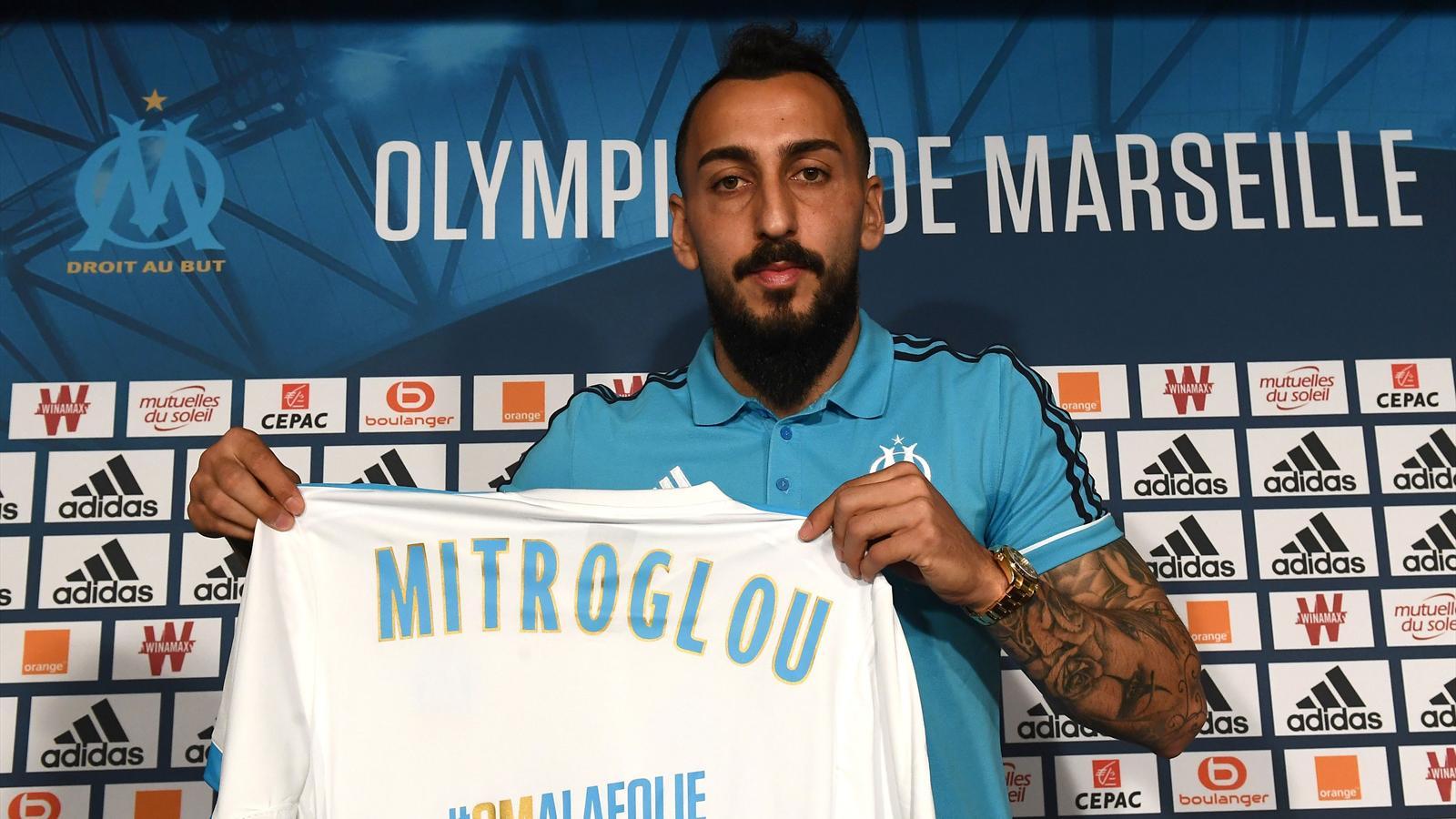 Maillot Extérieur Olympique de Marseille Konstantinos MITROGLOU