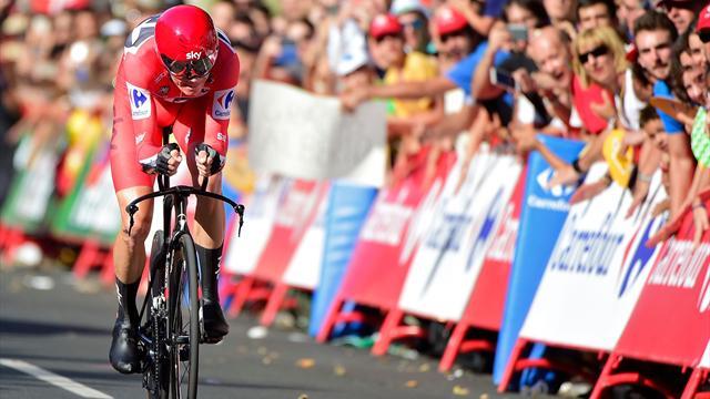 Фрум выиграл разделку на 16-м этапе «Вуэльты»