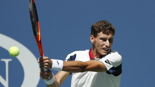 El argentino Diego Schwartzman dio otro golpe en el US Open