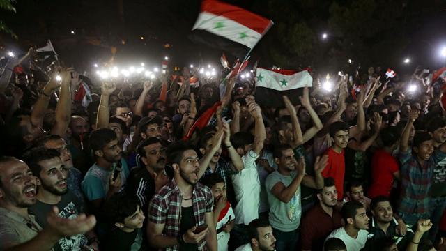 Divisés par la guerre, les Syriens se sont unis pour fêter un nul contre l'Iran