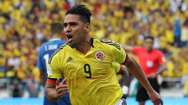 Clasificación Rusia 2018, Colombia-Brasil: Falcao manda en Barranquilla (1-1)