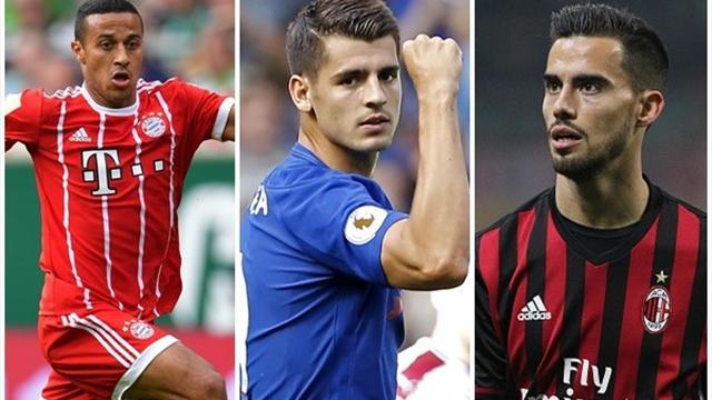 No sin españoles: Jugadores de nuestro país en los grandes de Europa