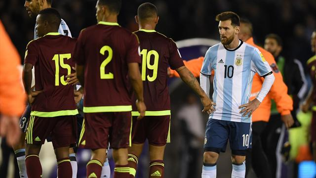 L'Argentine peine, l'Uruguay se replace