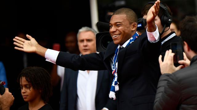"""""""Mbappé, allez, allez, allez"""" : le chant des Ultras pour leur nouveau chouchou"""