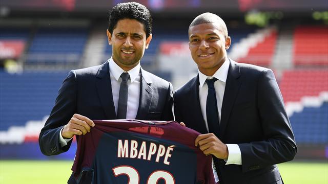 Mbappe starts for PSG debut