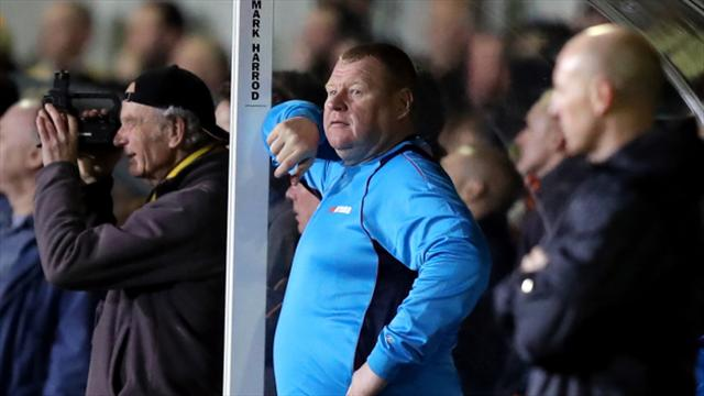 Ex-Sutton keeper Wayne Shaw gets two-month ban for eating pie during FA Cup tie