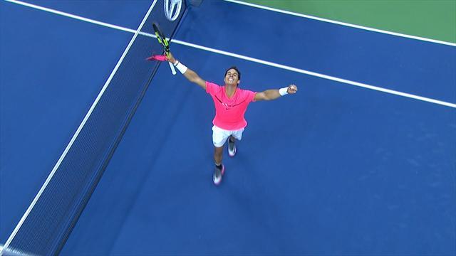 ABD Açık: Rafael Nadal - Andrey Rublev (Özet)