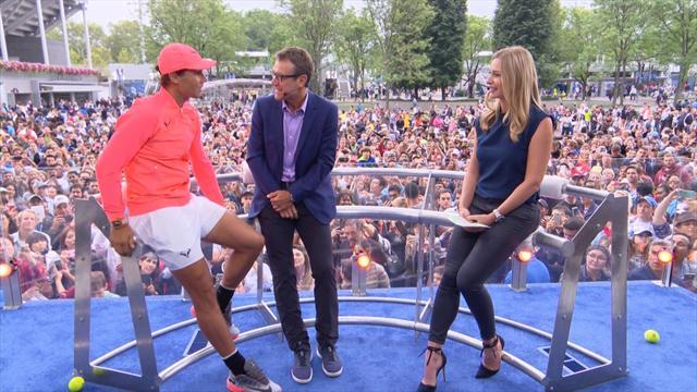"""Nadal sur un éventuel choc contre Federer: """"C'est peut-être le match qui nous manque"""""""