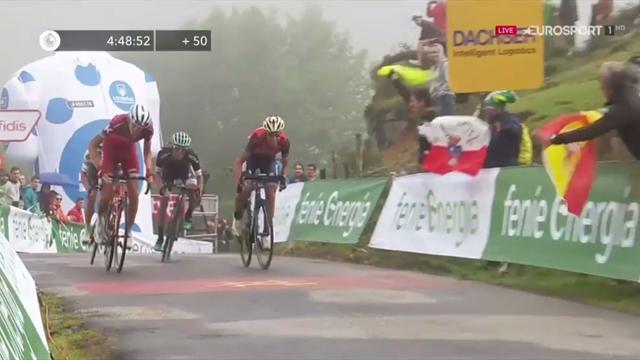 """I momenti chiave della 17a tappa: vince Denifl, ma Nibali recupera 42"""" su Froome"""