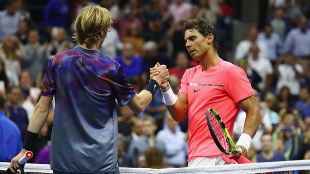 5 jeux perdus : Nadal a renvoyé Rublev à ses chères études