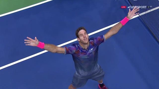 Del Potro-Federer: il match point della grande sfida della notte newyorkese