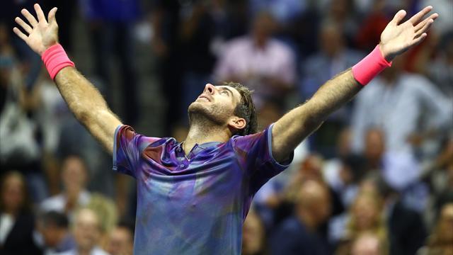 US Open: Del Potro stoppt Federer im Viertelfinale