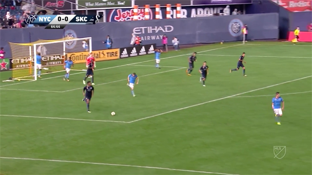 Vídeo MLS: ¿Cómo podéis fallar este gol?