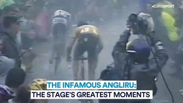 The infamous Angliru's greatest moments