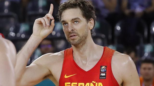Eurobasket 2017: Pau Gasol ya es el máximo anotador de los Campeonatos de Europa