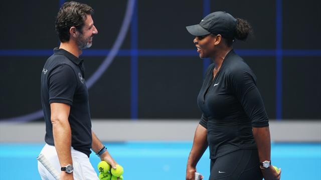 'Incredibly happy' Williams targets Australian Open return, says coach Patrick Mouratoglou
