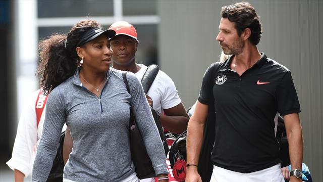 Patrick Mouratoglou happy to let Serena handle pressure points