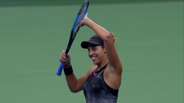 ABD Açık Yarı Final: Madison Keys - Coco Vandeweghe (Özet)