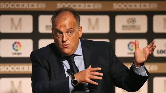 Liga boss Tebas discussing plans to play matches abroad