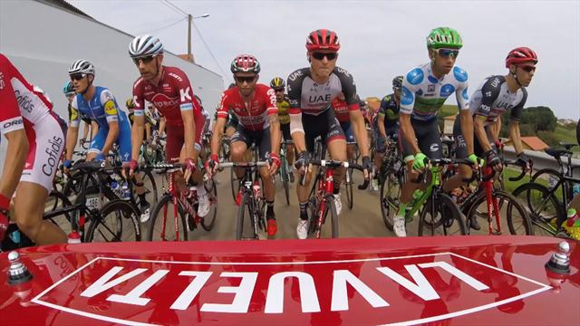 Vuelta Xtra: Dramatic onboard pictures from the Spanish grand tour