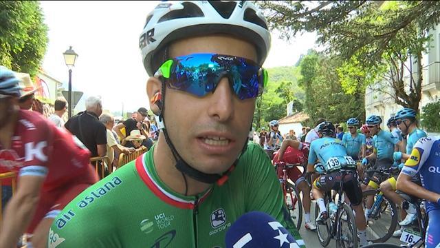 """Aru: """"Cercherò di onorare questa Vuelta, e questa maglia, fino alla fine"""""""