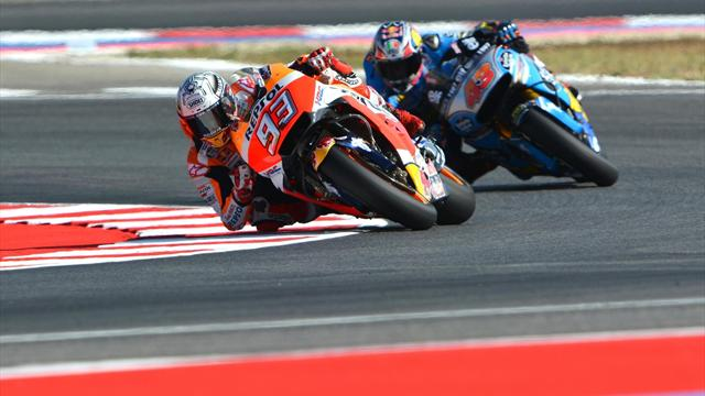 MotoGP San Marino: Petrucci se pone al frente con Viñales, Márquez y Pedrosa a cinco centésimas