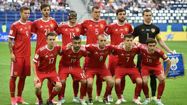 Сборная России проведет товарищеские матчи с Южной Кореей и Ираном