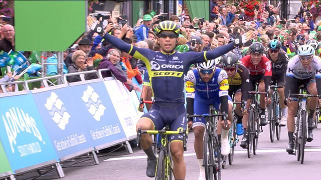 Ewan grabs Tour of Britain hat-trick on Stage 6