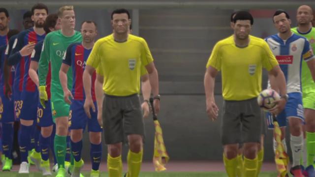 Liga Virtual: Así ha quedado el Barcelona-Espanyol