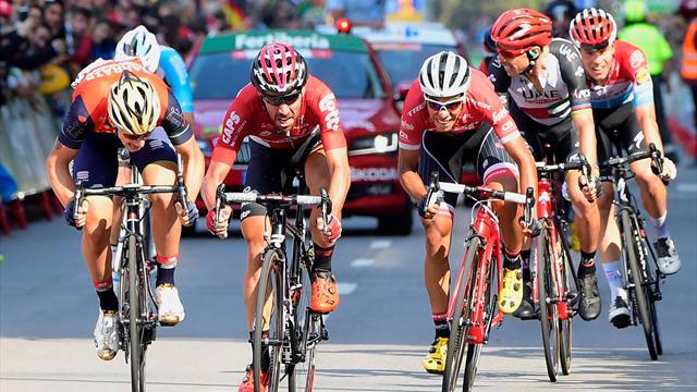 Schlüsselszenen 19. Etappe: Contador unermüdlich, Ausreißer steigt in elitären Kreis auf