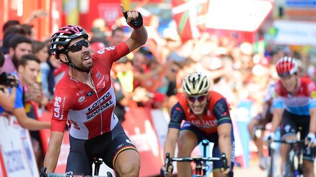 Де Гендт стал лучшим на 19-м этапе