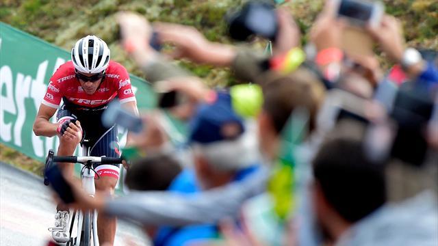 Contador a encore attaqué, Froome l'a encore rattrapé : les moments-clés de la 19e étape