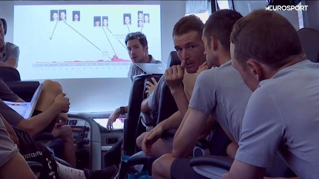 Exklusiv: Backstage bei Sky - so minutiös arbeitet das Team für Froome