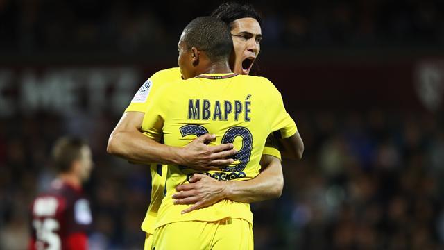 Ligue 1, Metz-PSG: Goleada con polémica en el estreno de Mbappé (1-5)