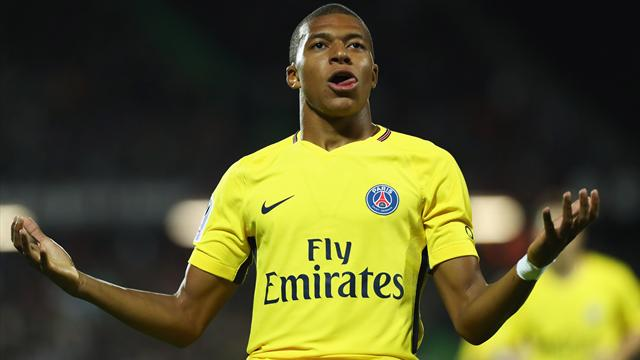 Mbappe scores on debut, Neymar and Cavani also net