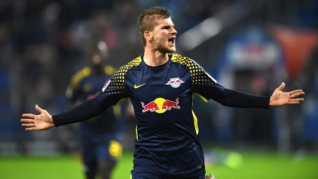 Avant Monaco, Leipzig s'est promené à Hambourg