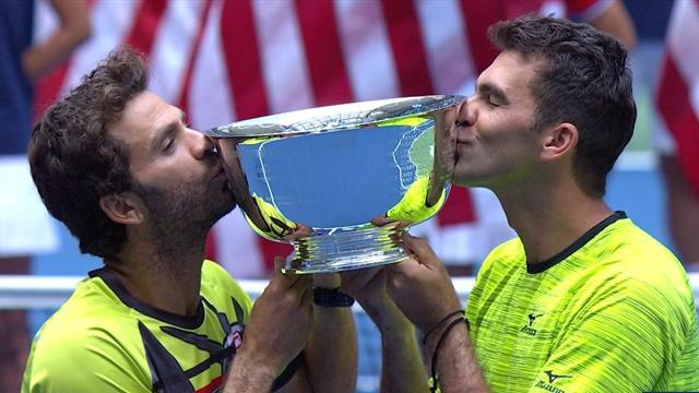 Jean-Julien Rojer et Horia Tecau remportent le double — US Open