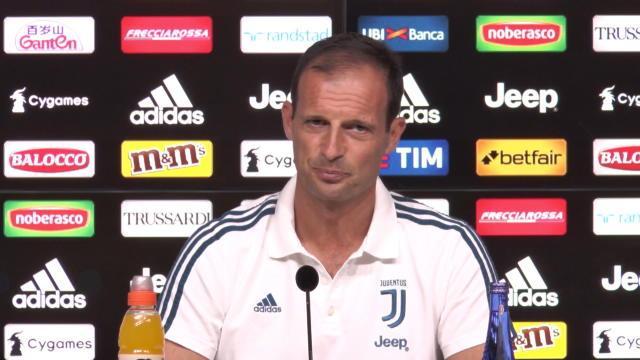 """Allegri : """"Matuidi débutera contre le Chievo"""""""