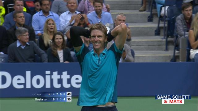 Роджер Федерер проиграл вчетвертьфиналеUS Open