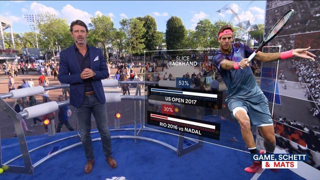 US Open 2017, GSM: Patrick Mouratoglou analiza las semifinales entre Nadal y Del Potro